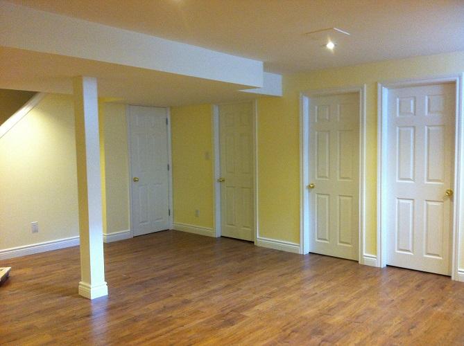 burlington basement finishing renovation