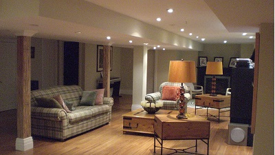 Basement Renovation Burlington