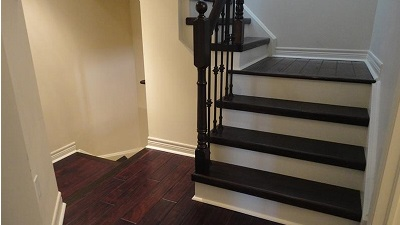 Stairs & Open Concept Renovation in Burlington